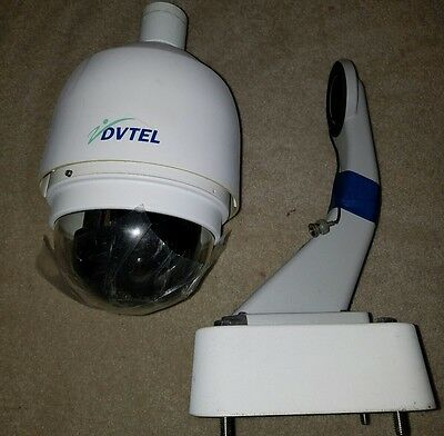 DVTel Dome Surveillance Security Camera w/ Long Wall Mount EUC
