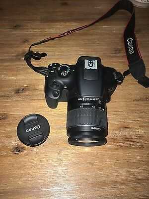 Canon EOS 1300D T6 + 18-55mm EF-S Lense + Camera Bag + 32GB Microcard