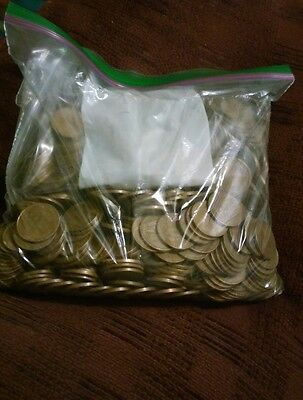 over 5 pounds of canadian copper pennies