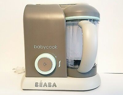 BEABA BABYCOOK 4-in-1 Baby Food Maker in Latte/Mint 4.7 cups