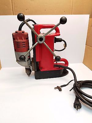 Milwaukee Electromagnetic Reversible Drill Press 4201/4253-1 Magnetic Drill 1/2