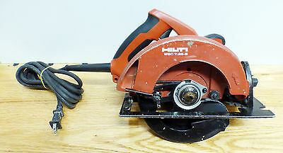 "Hilti WSC 7.25-S 7-1/4"" Corded Circular Saw 15Amp Heavy Cutting Application Used"