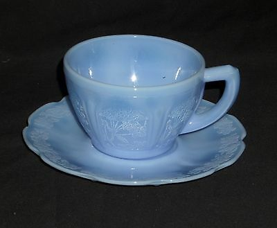 Jeannette CHERRY BLOSSOM DELPHITE *CUP & SAUCER*