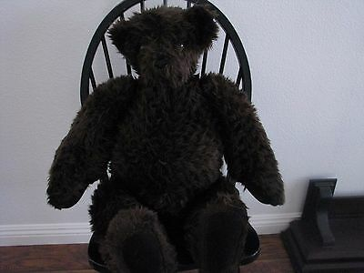 """Large Vermont Jointed Teddy Bear 32"""" to 33"""" Tall"""