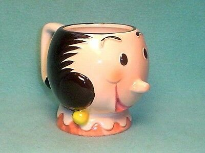 1980 Popeye's Olive Oil Ceramic Mug King Features Syndicate Inc