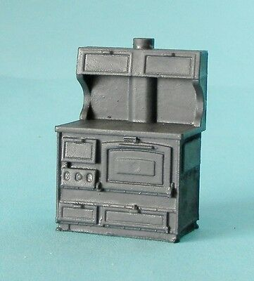 Country Cookstove - O Scale Resin Castings - 2 Piece Set