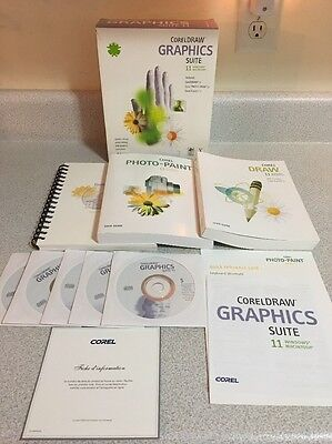 COMPLETE CorelDRAW 11 11.0 Graphics Suite Windows & Mac Corel Draw