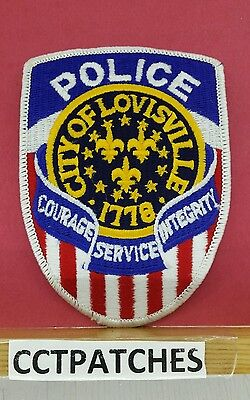 City Of Louisville, Kentucky Police Shoulder Patch Ky 2
