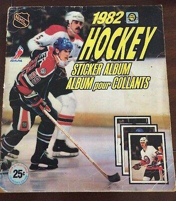 1982 OPC O Pee Chee Sticker Yearbook Complete Gretzky Islanders Stanley Cup