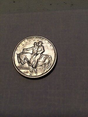 1925 Stone Mountain Silver Commemerative  Half Dollar High Grade