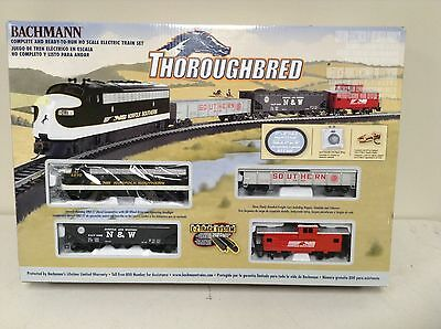 Bachmann / Thoroughbred Ho Train Set / Never Used / New Condition