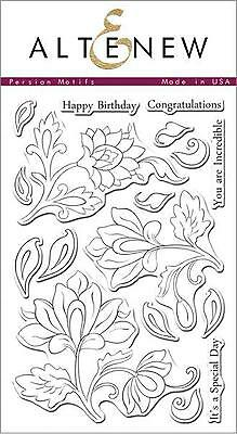 """Altenew - Photopolymer Clear Stamps - 4""""x6"""" Persian Motifs"""
