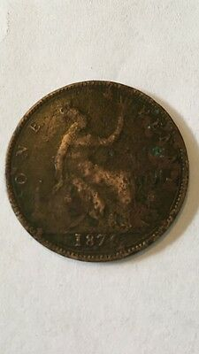 1878 Great Britain Penny