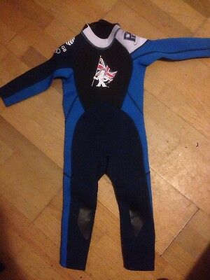 NEW Team GB Rio OLYMPICS Children's Full Wetsuit Age 3-4 Years