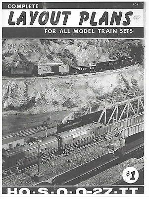 Llionel Train  (Layout Plans 146 Different Layouts) For  Ho, 027 , O-Scale,s,tt.