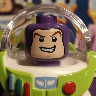 """Lego Disney Minifigures Buzz Lightyear Fresh Out Of Pack """" Collectible Series"""