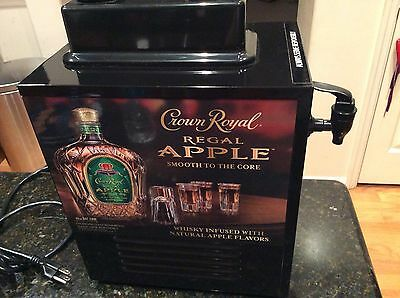 Crown Royal Apple Shot Chiller & Dispenser Machine Cooler