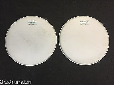 Ludwig Vintage 14 in Single Ply Coated Drum Heads Pair