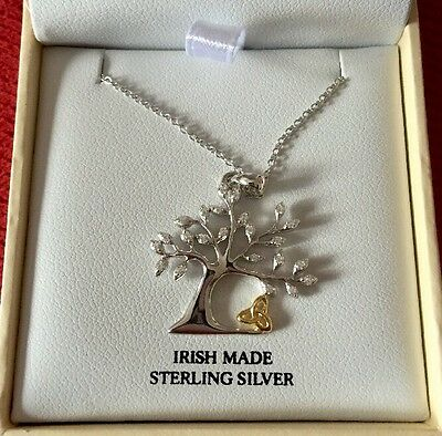 Shanore Tree With Celtic Knot Necklace