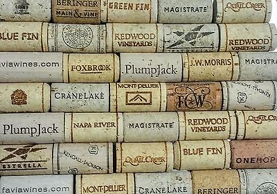 300 wine corks used/new 8 to 10 wineries free US shipping