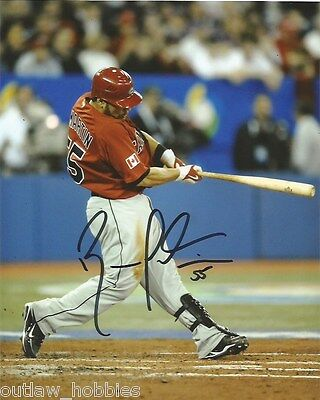 Team Canada Russell Martin Signed Autographed 8x10 Photo COA B