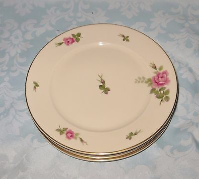 "Vintage Rosenthal Aida Continental 8"" Salad Plates Set of Four"