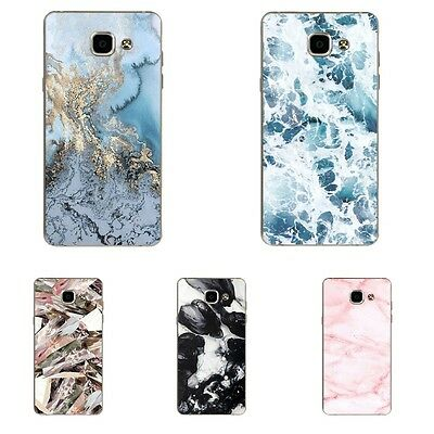 Case For Samsung Galaxy A5 2016 Soft TPU Cell Phone Back Cover Marble