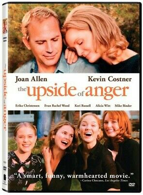 The Upside of Anger (DVD, 2005, Widescreen) Joan Allen, Kevin Costner *NEW*