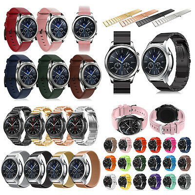 Luxury Leather Milanness Watch Band Strap For Samsung Gear S3 Frontier/Classic