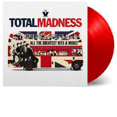 MADNESS ~ TOTAL MADNESS ~ NUMBERED LIMITED EDITION 2 x 180gsm RED VINYL LP ~ NEW