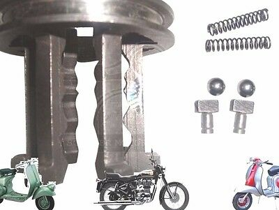 Lambretta Gear Selector Sliding Dog With Free T Pins And Spring Balls @cad