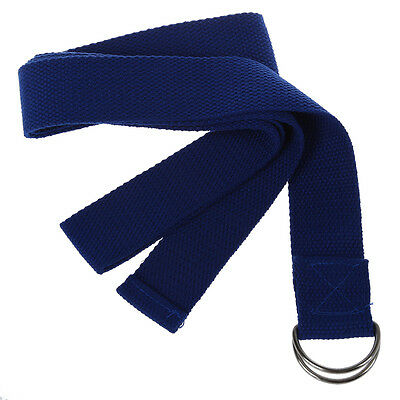 """1 pz colore casuale 67 """"Yoga Stretching Strap poliestere Belt Pilates fitn K6R2"""