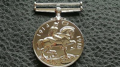M17 Commemorative George V Britt 1914-1918 War Horse Military Medal