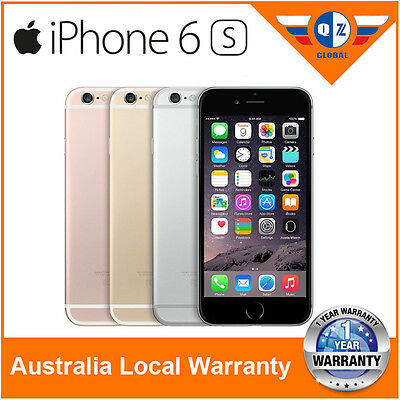 Unlocked (New Sealed Box) Apple iPhone 6s 16GB 64GB 128GB Factory 4G smartphone