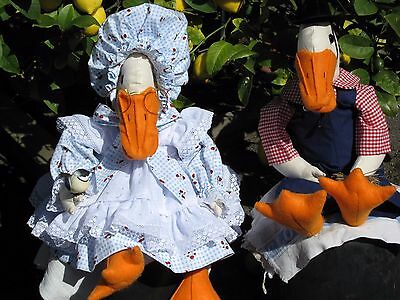 Handmade Geese - collectable