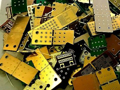 118 gram mix PCB  GOLD PLATED HIGH YIELD     SCRAP RECOVERY GOLD OR COLLECTOR