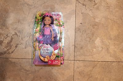 Barbie Endless Hair Kingdom Princess Doll - Purple