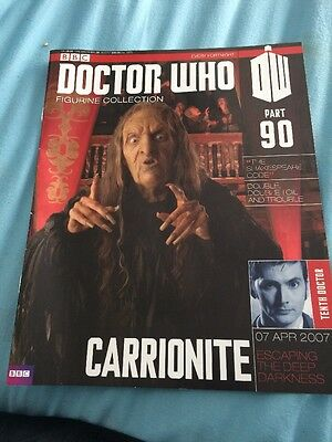 dr who figurine collection 90 Carrionite Magazine Only Dr Who