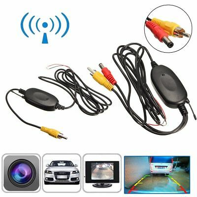 Wireless Transmitter Receiver for Car Rearview Reversing Camera Monitor