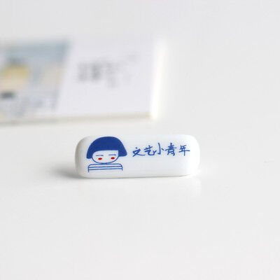 Art small young literary style small Handmade ceramic jewelry brooch   1P