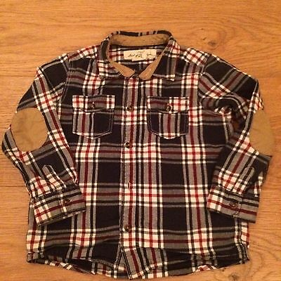 Sale!!  H&M Boys 1.5-2 years Check Casual Shirt Top Kids Clothes outfit