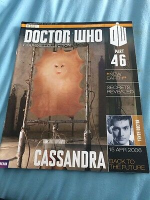 dr who figurine collection 46 Cassandra Magazine Only Dr Who