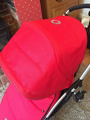 Bugaboo Bee Hood And Universal Footmuff In Red