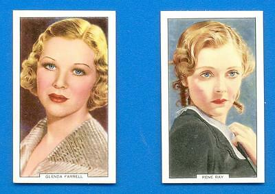 My Favourite Part.2 Gallahers Cigarette Cards 1939.rene May & Glenda Farrell