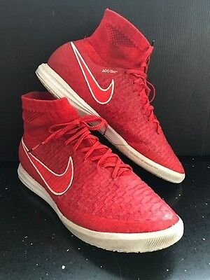 Nike magista proximo football trainers red size 8.5