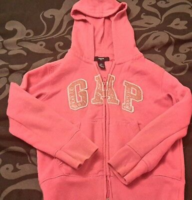 Hot Pink Gap Sweattop/hoody  Age 6-7