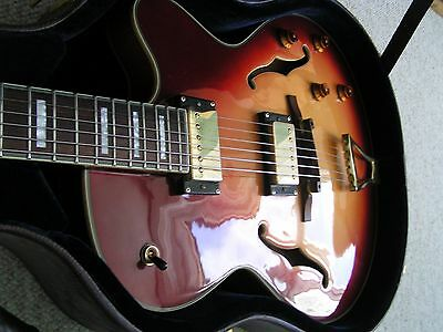 Peerless Sunset Thinline  Jazz guitar 2006