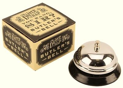 Dapper Chap Reception Desk Service Butlers Call Bell Waiter  Gift Boxed ...
