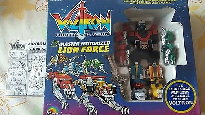 Voltron Defender Of The Universe Master Motorized Lion Force - Ljn Toys Ltd 1984