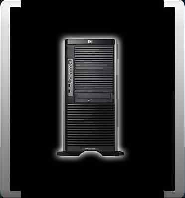 HP PROLIANT ML350 G5P XEON QUADCORE E5410 2.3 GHZ 16GB RAM TOWER 8x 2,5 ZOLL HDD